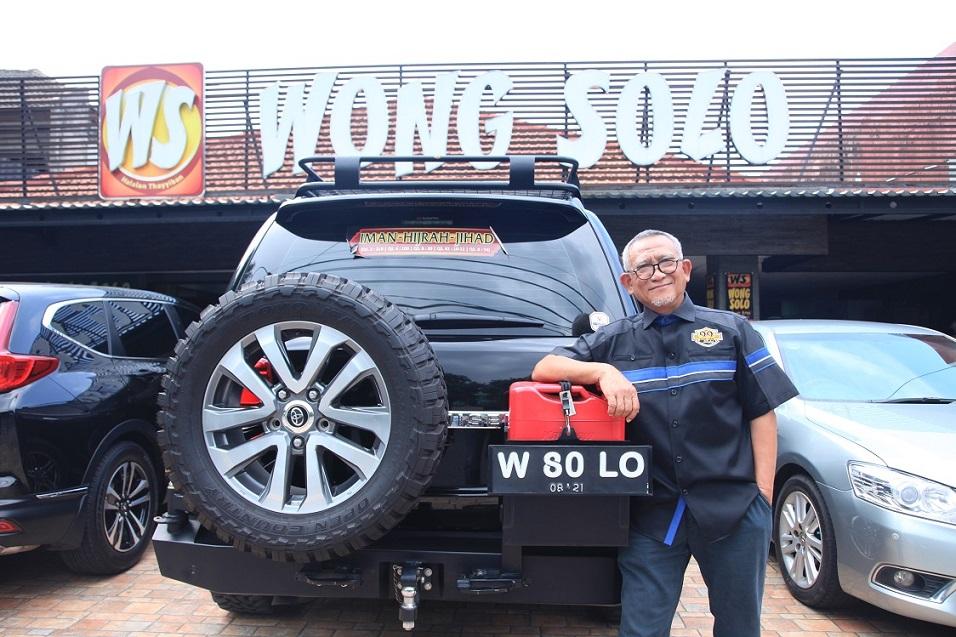 "H. Puspo Wardoyo, Pemilik Restoran Wong Solo ""Bekerja Adalah Jihad, dan Banyak Istri, Banyak Anak, Banyak Rezeki."""