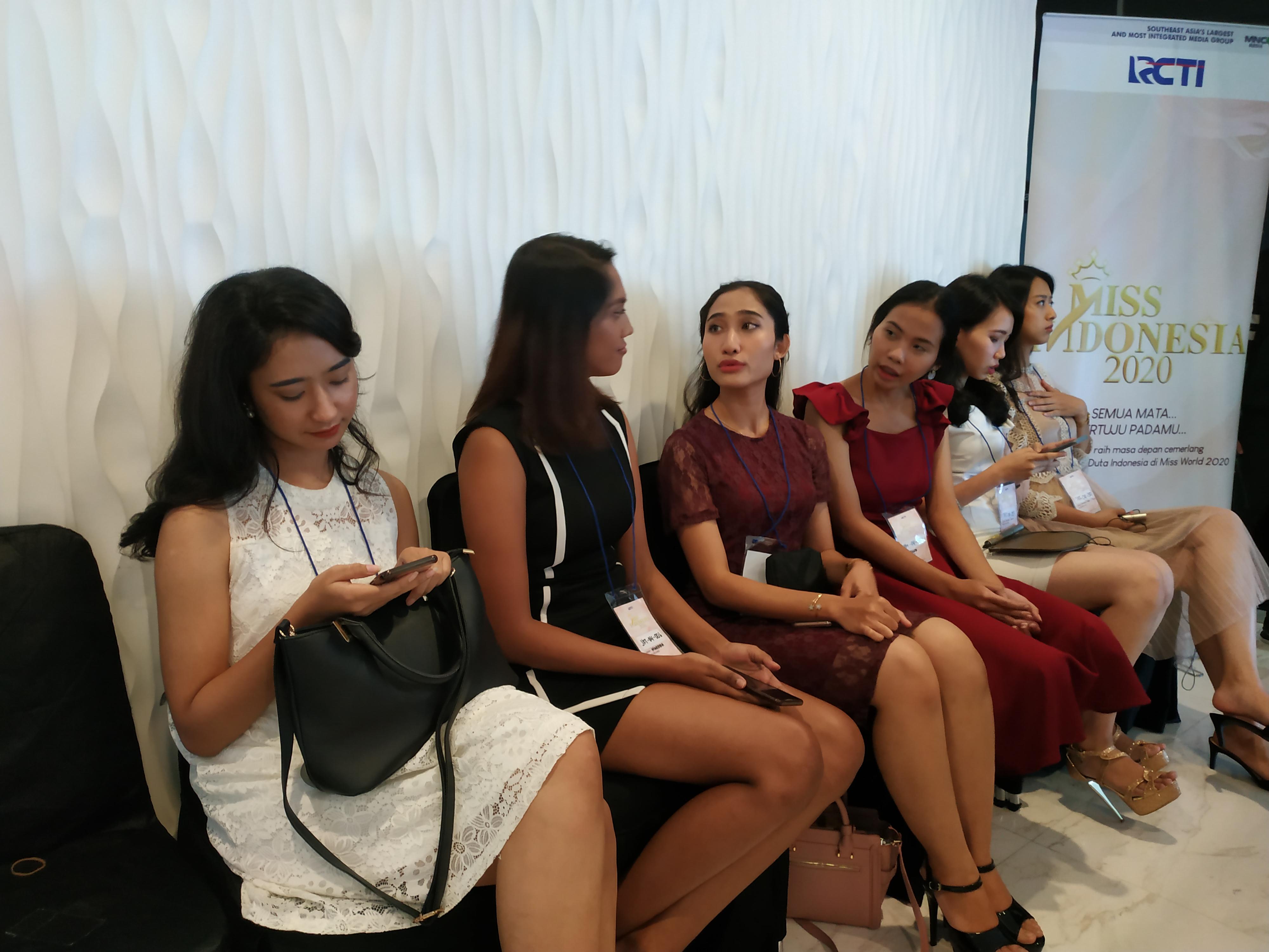 Persaingan Peserta Cukup Tinggi Di Audisi Jakarta Miss Indonesia 2020