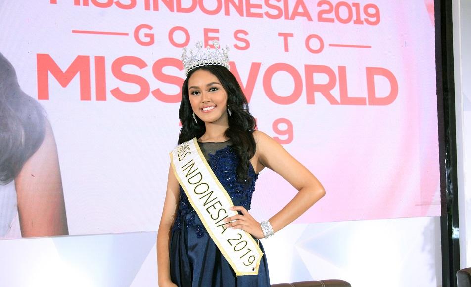 Princess Megonondo,  Siap Lahir Batin Untuk Mengharumkan Nama Indonesia Di Miss Word 2019