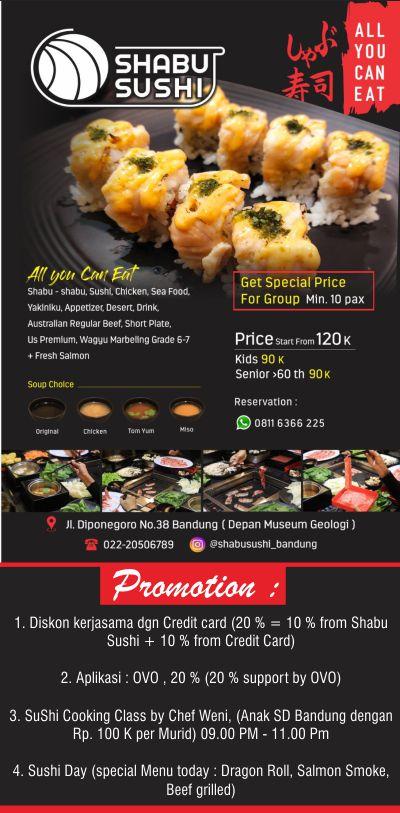 H. Puspo Wardoyo Buka Cabang Shabu Sushi Di Bandung