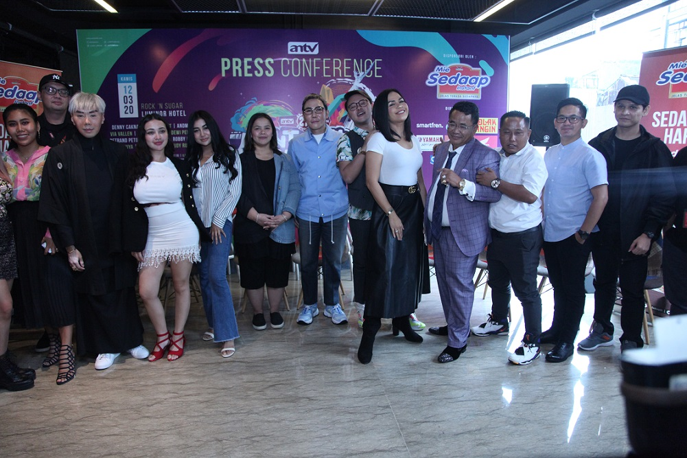 Malam Puncak HUT Ke-27 ANTV, 'Untukmu Indonesiaku' Di Gelar Di Lapangan Banteng, Jakarta