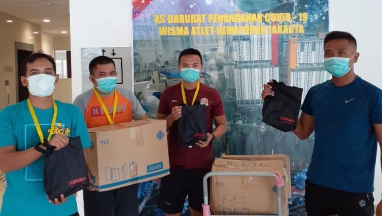 Peduli Pandemi Covid 19, Priskila Berikan Bantuan Paket 'Stres Relief' Untuk Tim Medis