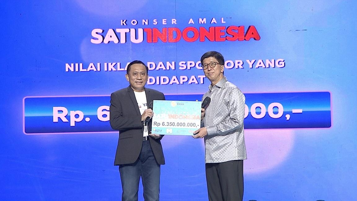 Konser Amal Satu Indonesia Sukses Digelar Himpun Donasi Lebih Dari 9 Milliar