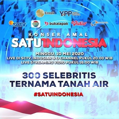 Galang Donasi Emtek Peduli Corona Lewat 'Konser Amal Satu Indonesia'