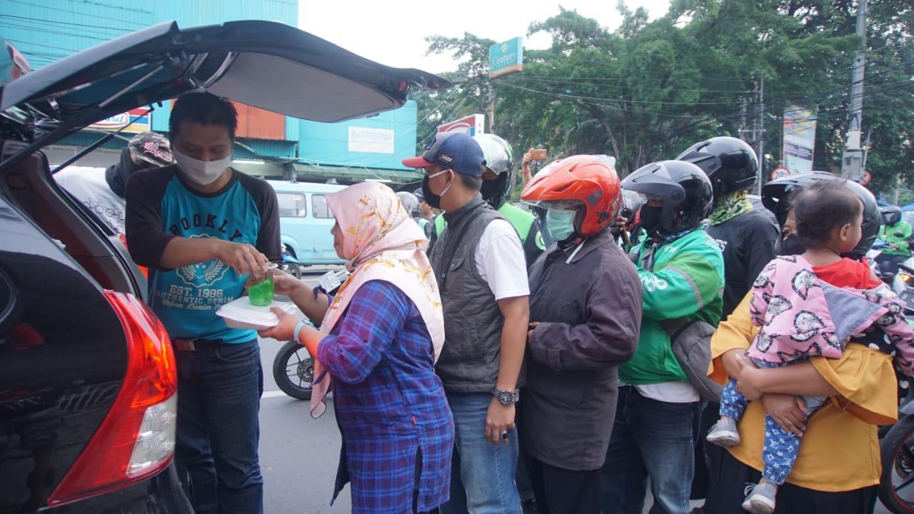 Tahap Kedua 'Peduli Jurnalis' Berikan Paket Sembako Kepada Jurnalis dan Masyarakat