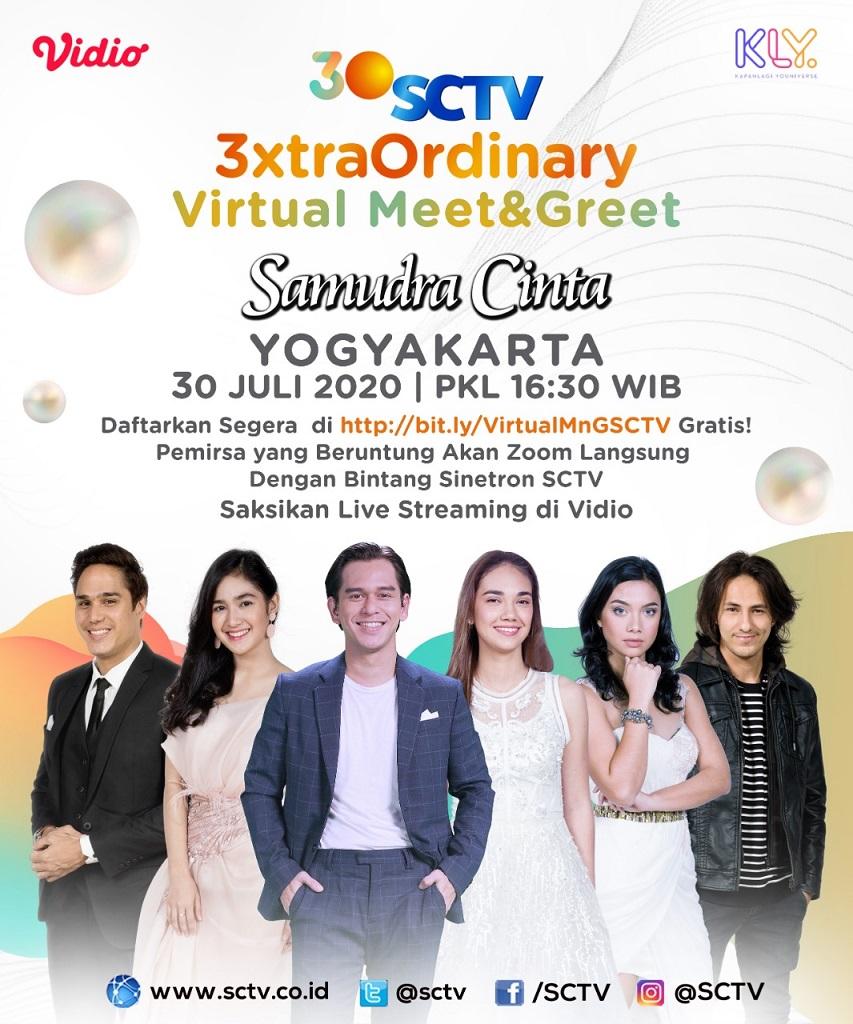 "Bintang Sinetron ""Samudra Cinta"" Sapa Pemirsa Yogyakarta Lewat Virtual Meet and Greet"