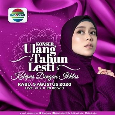 Curahan Hati Lesti DA Dalam Konser Ulang Tahunnya 'Kulepas Dengan Ikhlas'