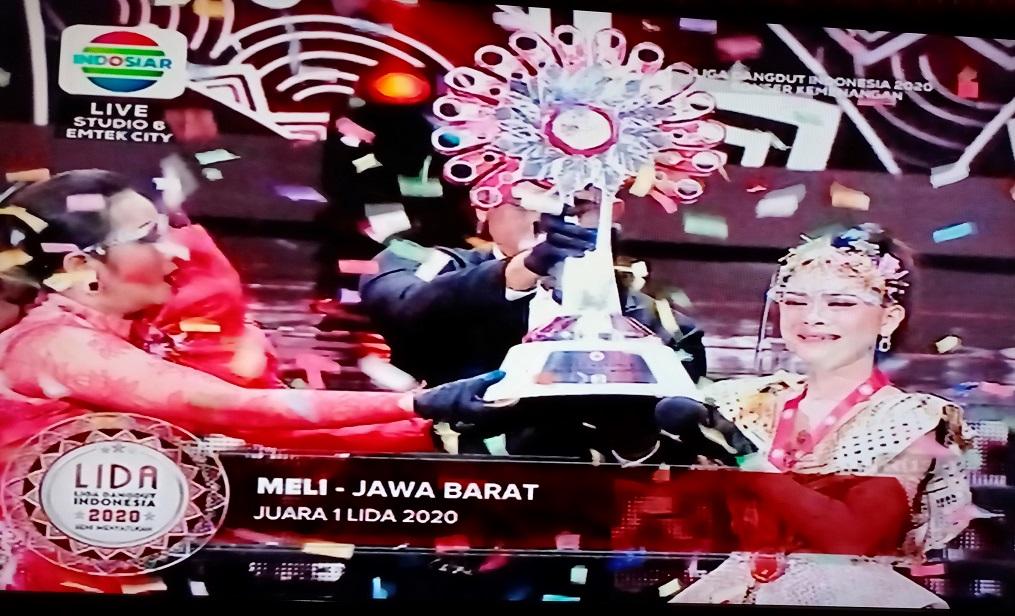 Meli (Jawa Barat) – Bintang Baru Indosiar Boyong Piala Bergilir dan Uang 500 Juta Di LIDA 2020