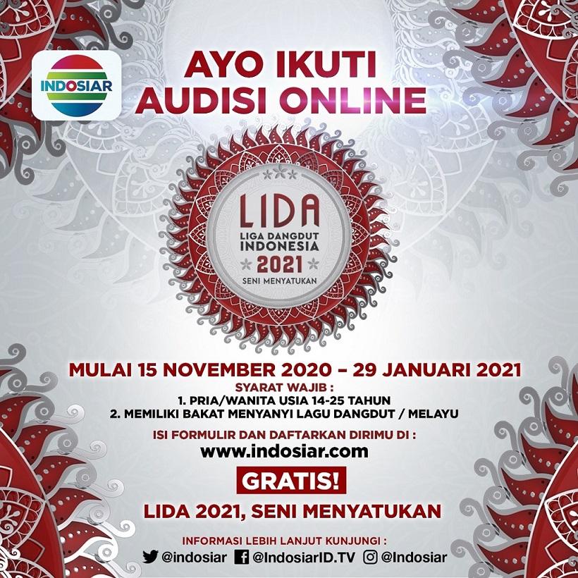 Indosiar Gelar Audisi Online LIDA 2021 Di 34 Provinsi