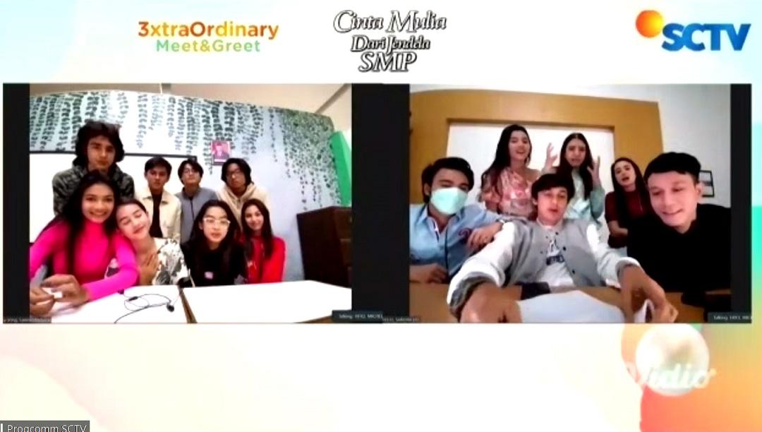 Keseruan Games dan Berbalas Pantun Para Pemain 'Cinta Mulia' VS 'Dari Jendela SMP'