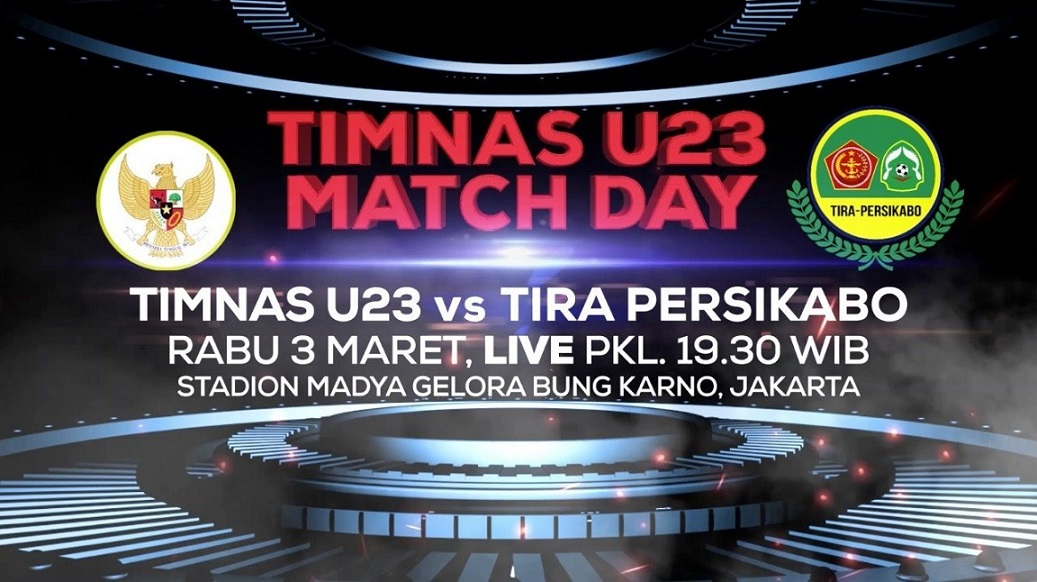 Obati Kerinduan dan Bangkitkan Persepakbolaan Nasional, Indosiar Tayangkan 'TIMNAS U-23 MATCH DAY'