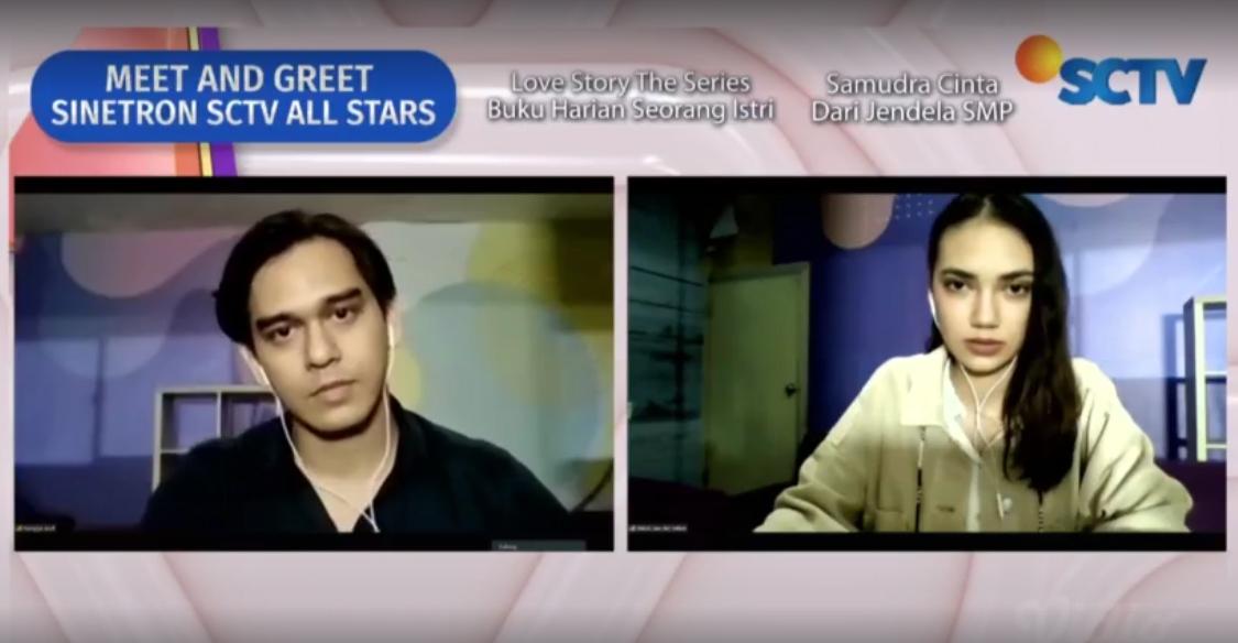 Akting Rangga Azof Dengan Sorot Matanya Dapat Pujian Di 'Meet and Greet Sinetron SCTV All Stars'