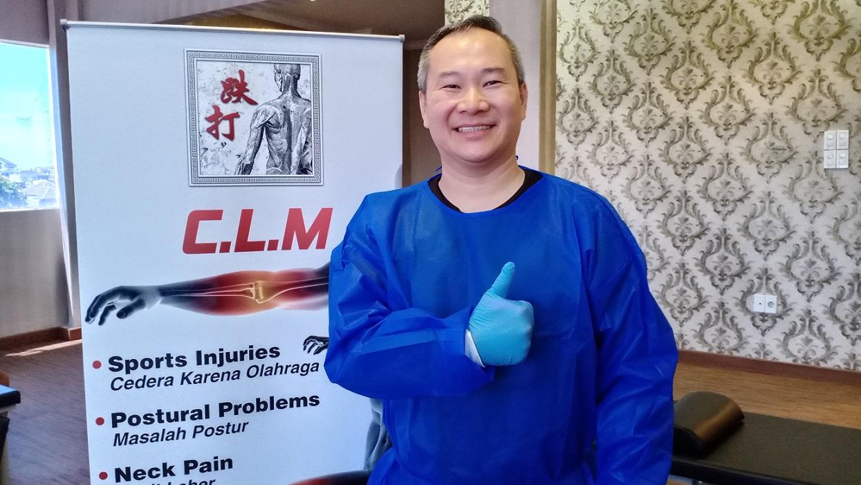 Master Chris Leong, CLM Method Tit Tar Atasi Pengaturan Tulang, Persendian dan Saraf Kejepit