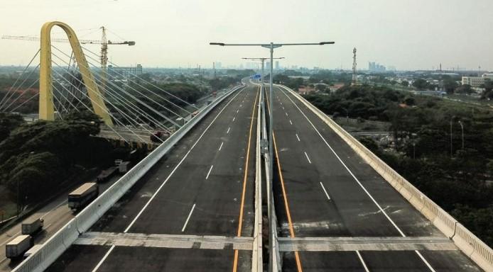 Jalan Layang MBZ Ditutup Sementara Mulai 6 Hingga 19 Mei 2021