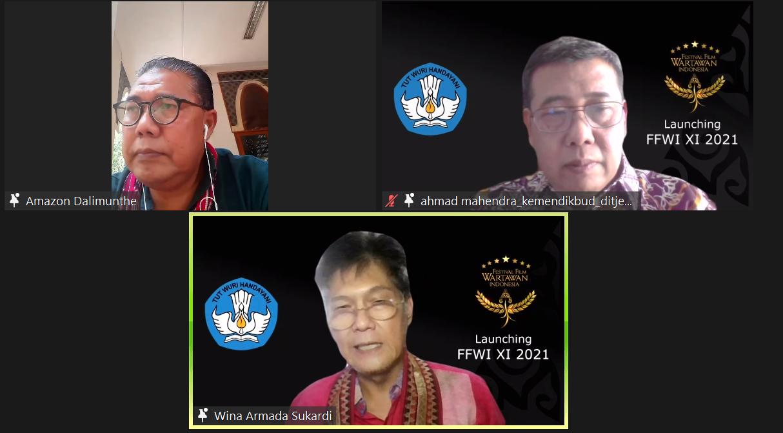 FFWI 2021 Akan Digelar Bertemakan 'Apresiasi Wartawan Untuk Film Indonesia'